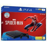 PS4 1TB F CHASSIS + MARVEL'S SPIDER-MAN SONY